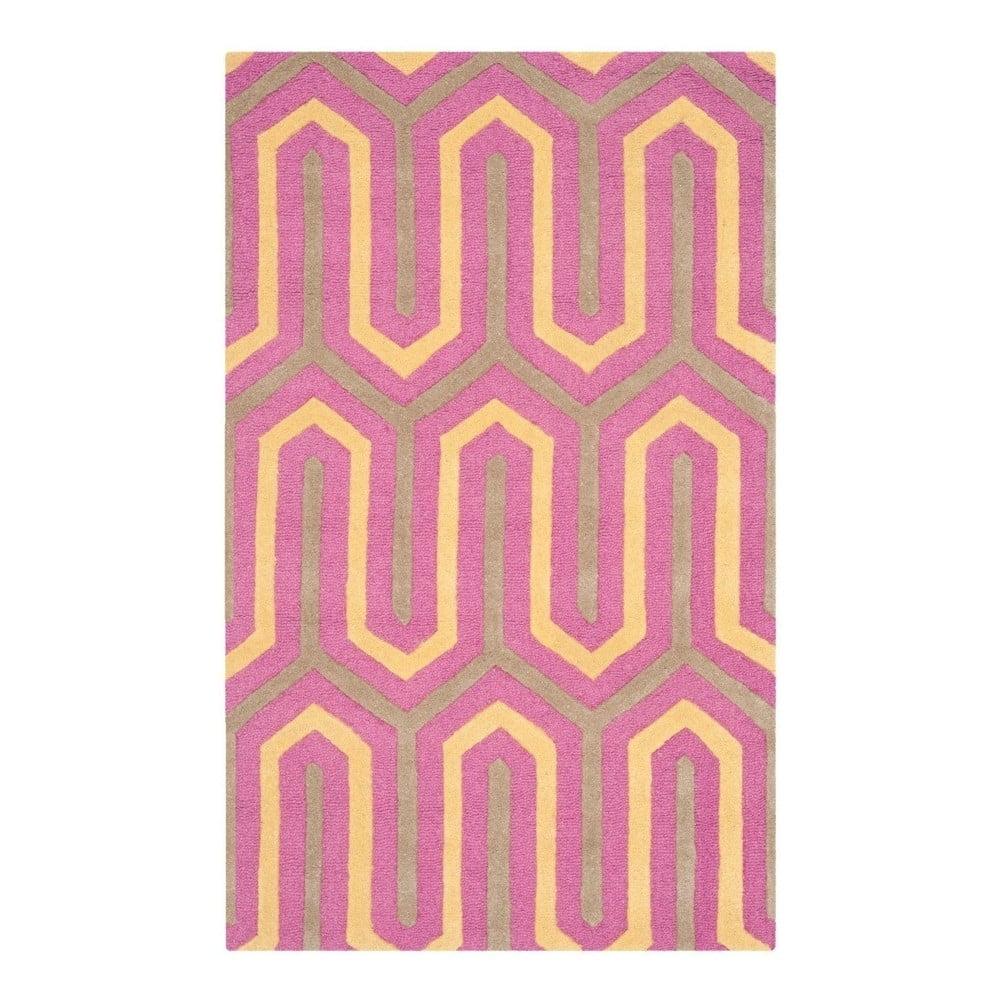 Vlnený koberec Safavieh Lotta, 121x182 cm