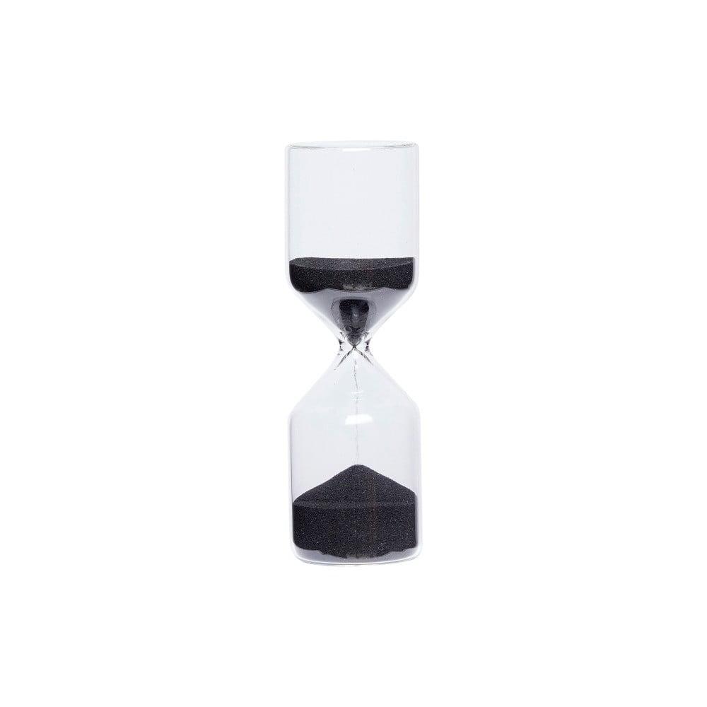 490ee319a Presýpacie hodiny s čiernym pieskom Hübsch Margie, 30 minút