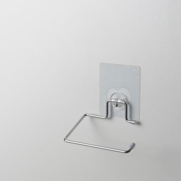 Držiak z pochrómovanej ocele na toaletný papier Compactor