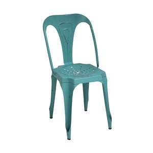 Kovová stolička Turquoise Metal