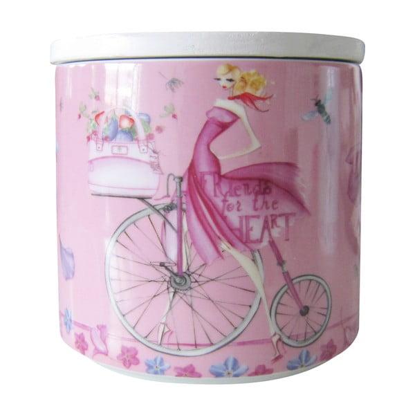 Porcelánová dóza na sušienky Pink Biscuits