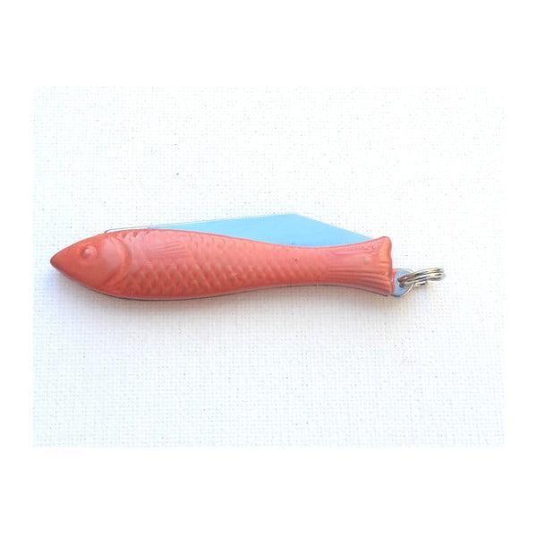Český nožík rybička, oranžový lak