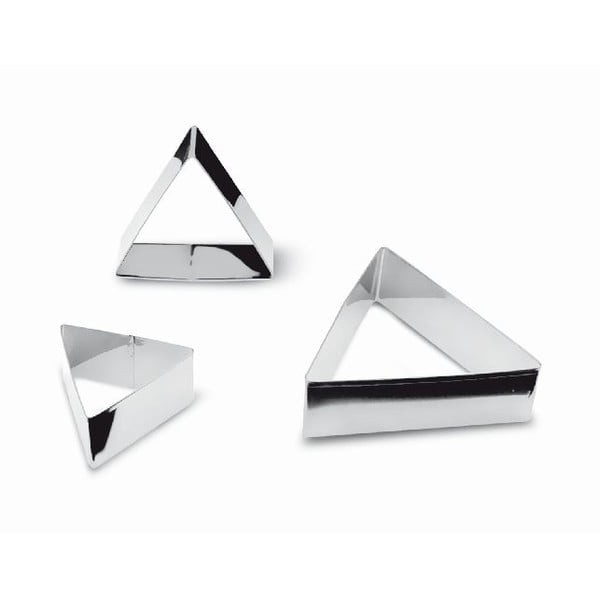 Set 3 vykrajovátok Triangular