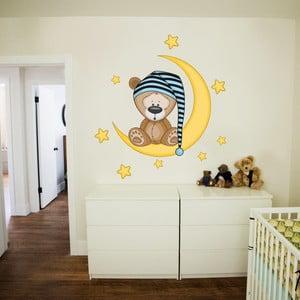 Dekoratívna samolepka na stenu Spinkáčik pre chlapcov