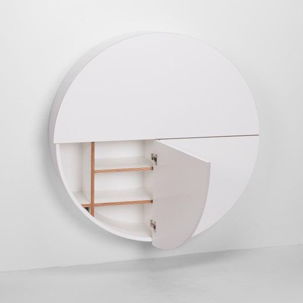 Biely multifunkčný nástenný stôlEMKOPill