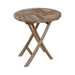 Záhradný skladací stôl z teakového dreva ADDU Java
