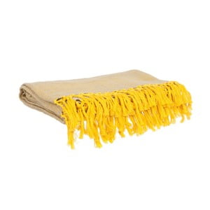 Deka Weaved Raster Yellow, 170x130 cm