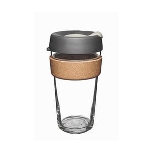 Cestovný hrnček s viečkom KeepCup Brew Cork Edition Press, 454 ml