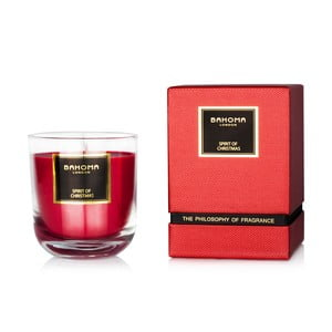 Sviečka s vôňou škorice Bahoma London Luxury, 75 hodín horenia