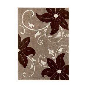 Béžovo-hnedý koberec Think Rugs Verona, 60x225cm
