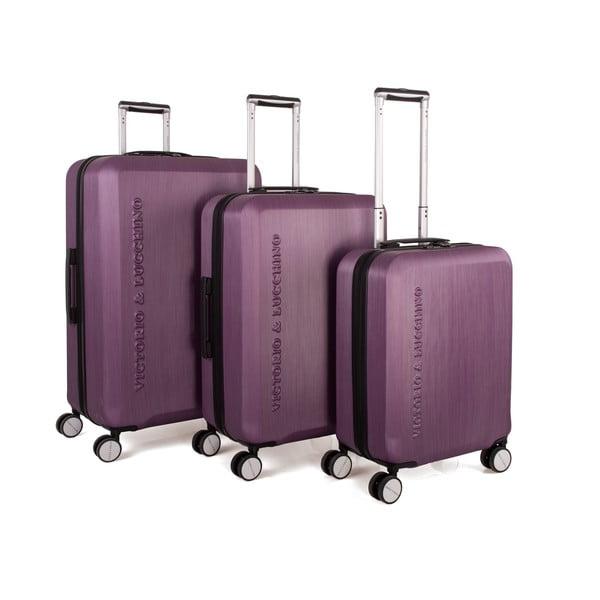 Set 3 cestovných kufrov Victorio Morado