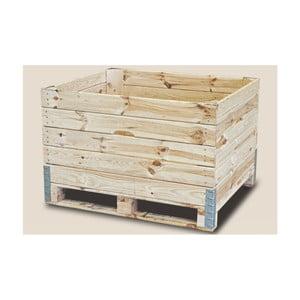 Úložný box na ovocie z borovicového dreva Boltze