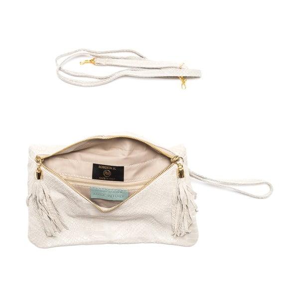 Listová kabelka Mirella, béžová