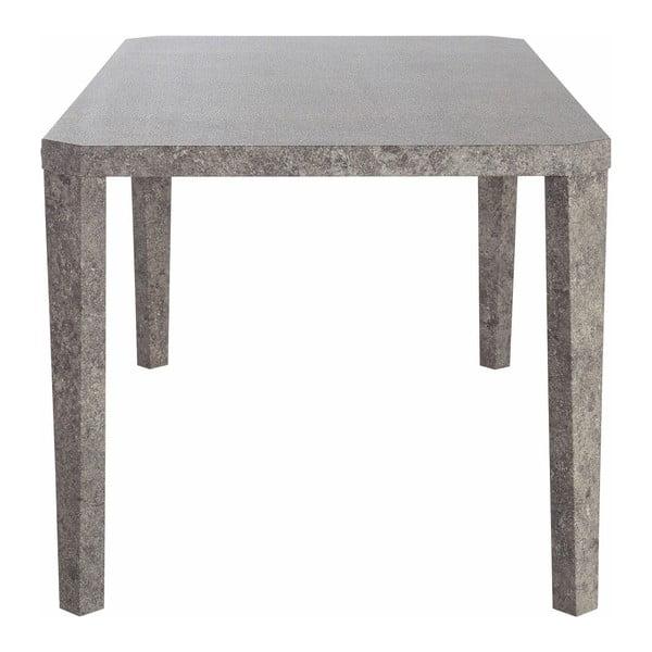 Jedálenský stôl v dekore betónu Støraa Argos, 90 x 160 cm