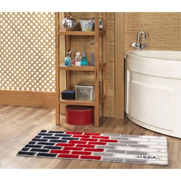 Kúpeľňová predložka US Polo Brick, 60x100 cm