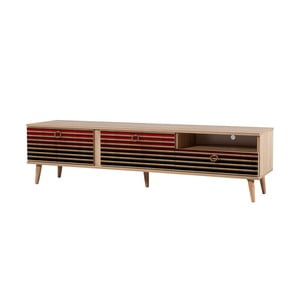 TV stôl Stella Red Classic, šírka 46 cm