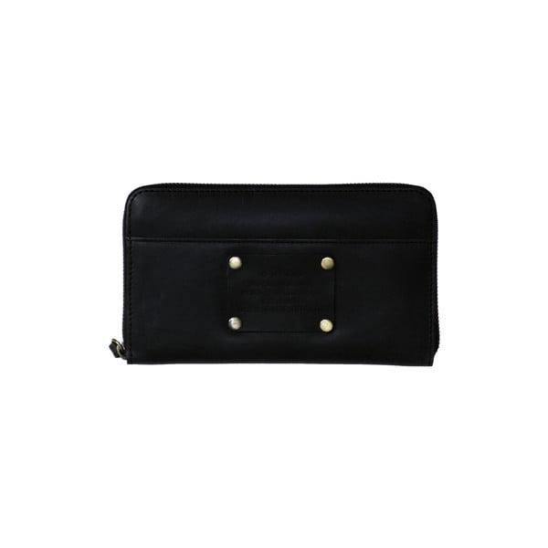 Kožená peňaženka O My Bag Miss MoneyPenny, čierna