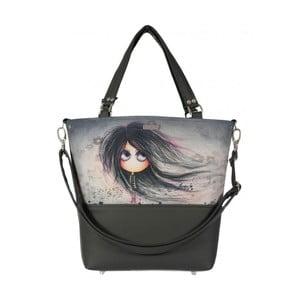 Sivá kabelka Dara bags Lele No.442