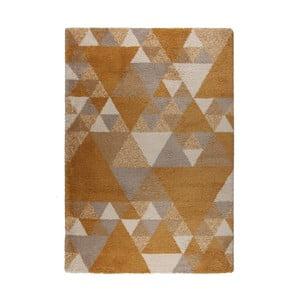 Hnedo-krémový koberec Flair Rugs Nuru, 80×150 cm