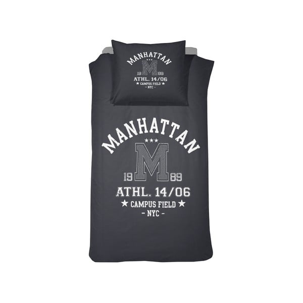 Obliečky Manhattan Blue, 140x200 cm