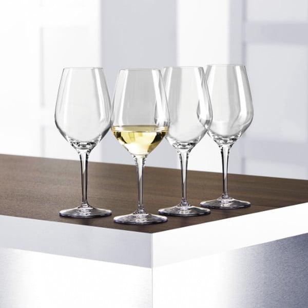 Sada 4 pohárov na biele víno White