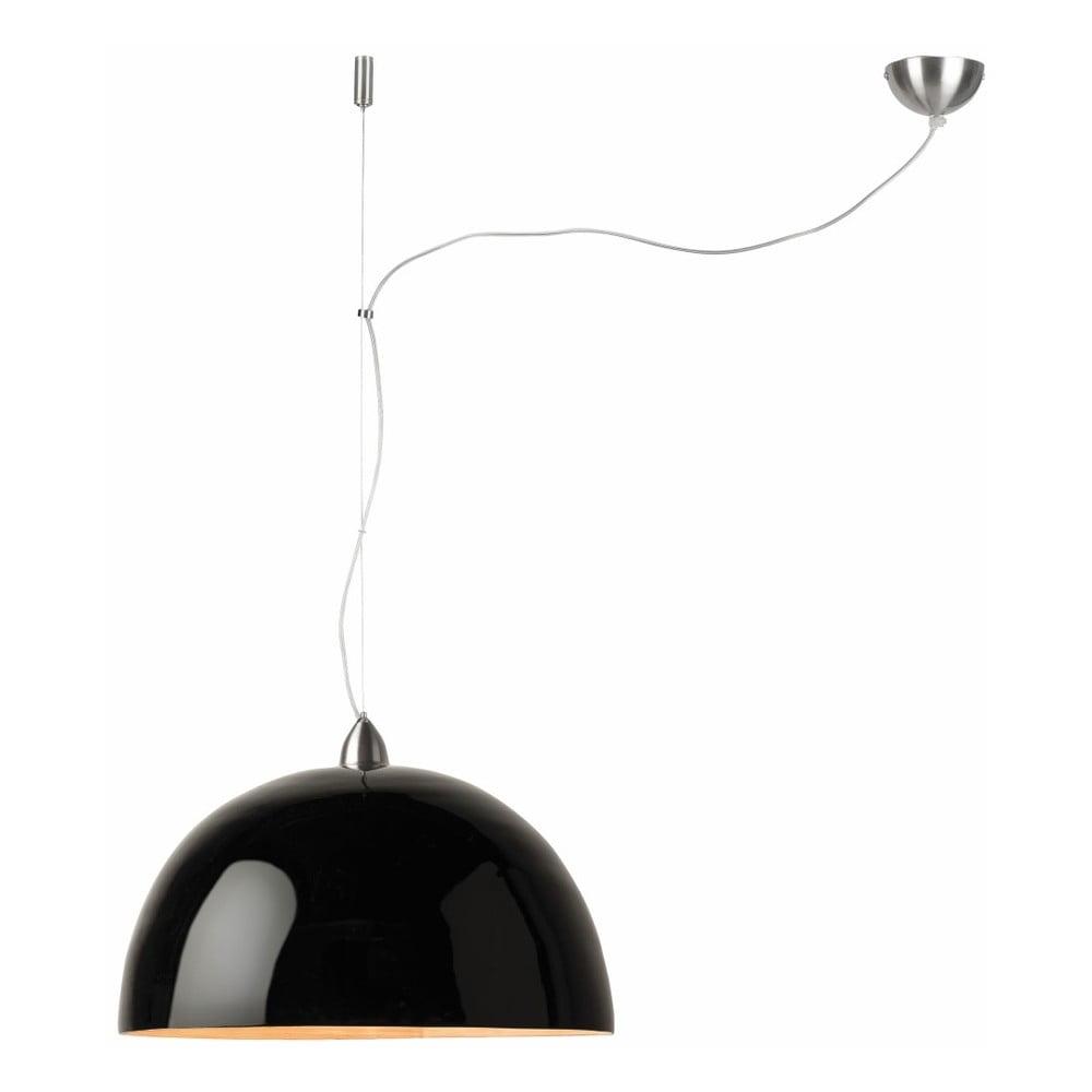Čierne závesné bambusové svetlo Good&Mojo Halong