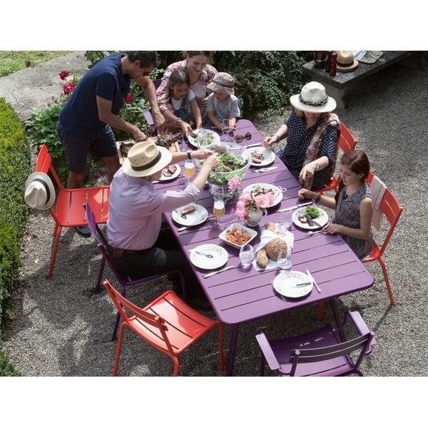 Sada 2 krémových stoličiek s opierkami na ruky Fermob Luxembourg
