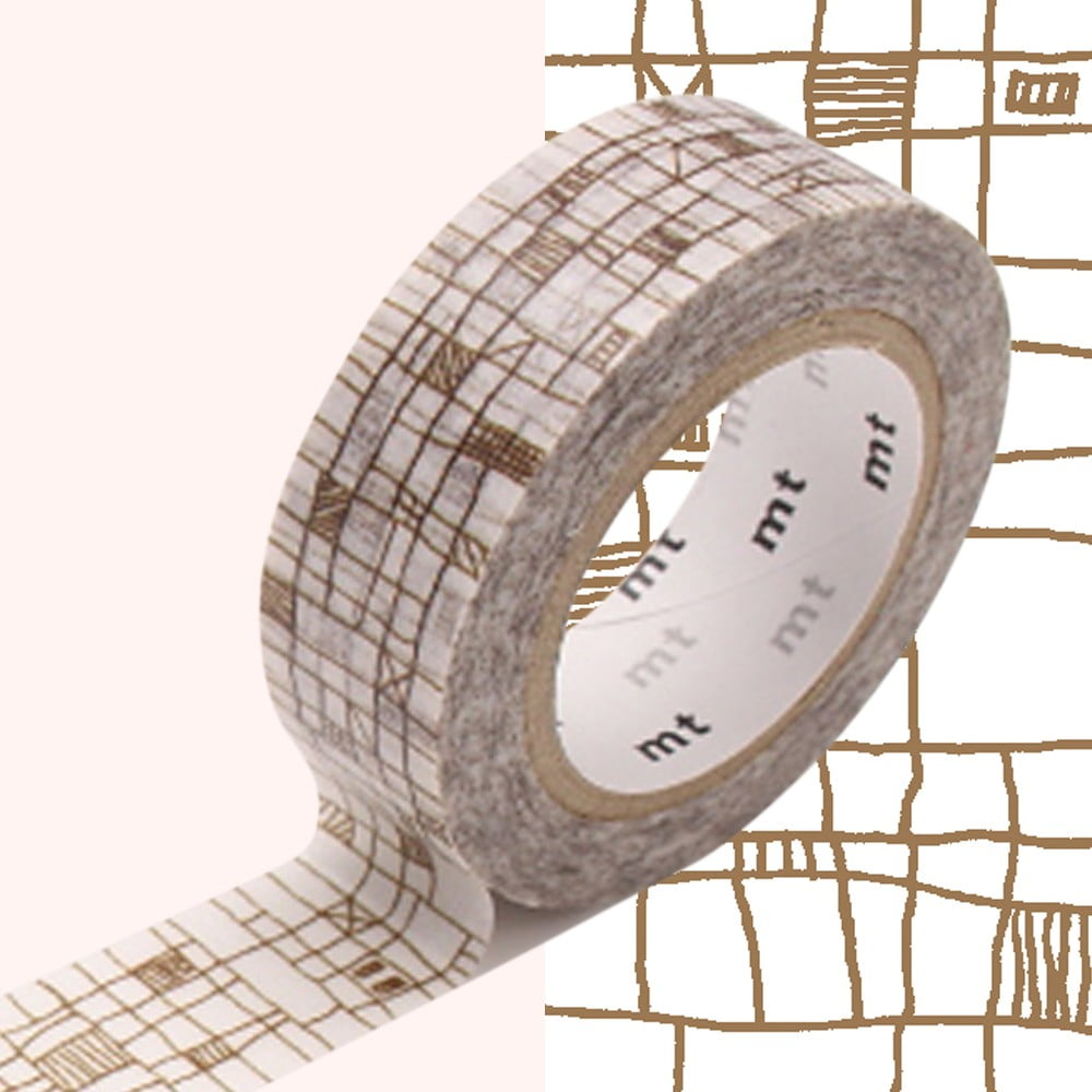 Washi páska MT Masking Tape Valerie, návin 10 m