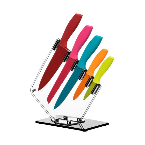 Farebné nože Premier Housewares, 5ks
