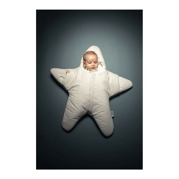 Detský spací vak Star Beige M