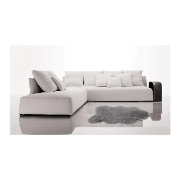Sivý kožušinkový koberec Floorist Soft Bear, 90x140cm
