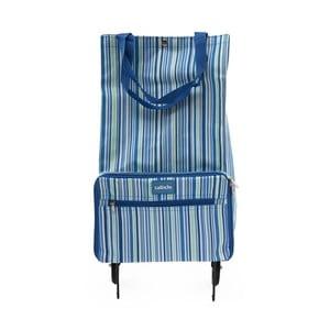 Modrá taška na kolieskach Sabich Stripe