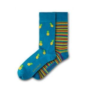 Sada 2 párov ponožiek Black & Parker London Dalton, vl. 37 - 43