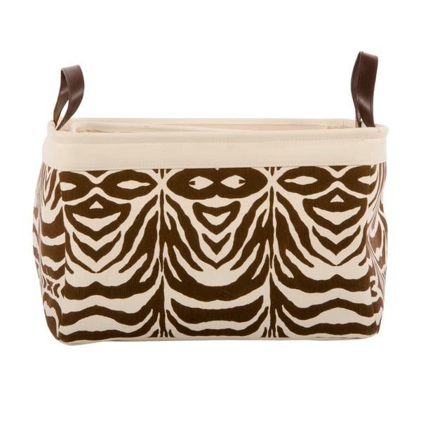 Sada 3 košíkov Brown Zebra