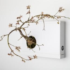 Nástenný kvetináč Artkami Sinistra, 38x27 cm