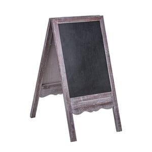 Dekoratívna drevená tabuľa Dino Bianchi, výška 1 m