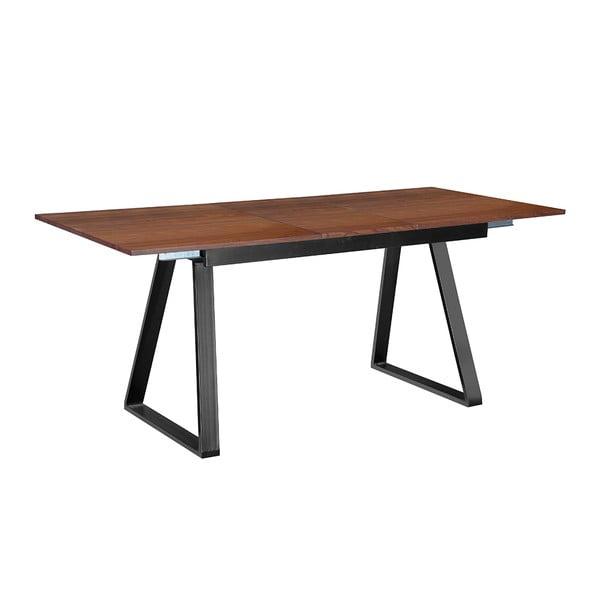Rozkladací jedálenský stôl Discovery, 140-180 cm, tmavý