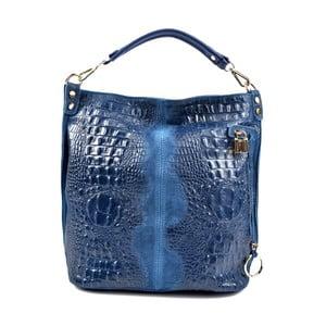 Modrá kožená kabelka Roberta M Russna