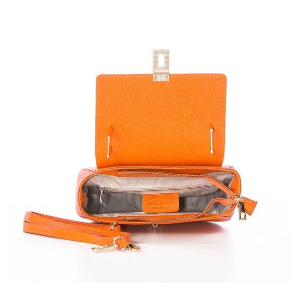 Kožená kabelka Grana Dollaro Orange