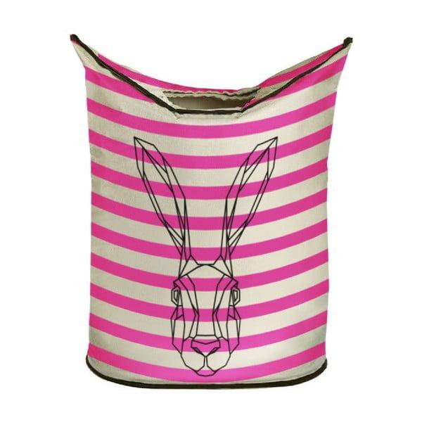 Kôš na bielizeň Bunny in Stripes