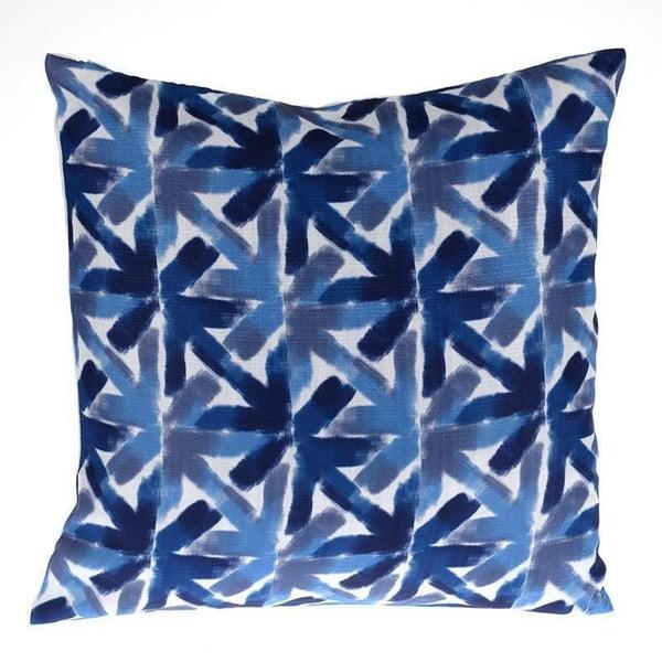 Vankúš Blue and Flower, 45x45 cm