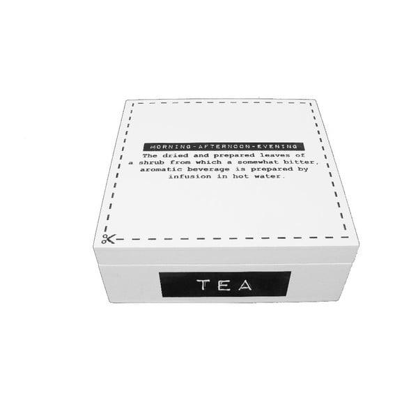 Box na čaj Square Label