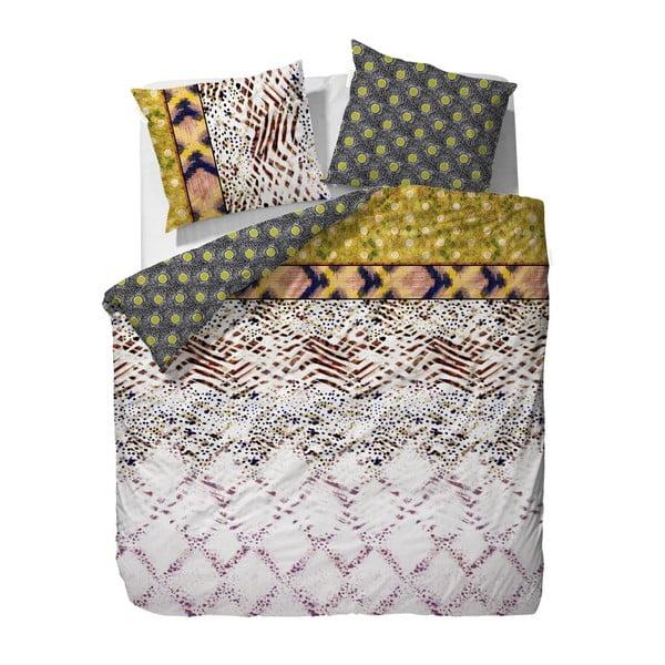 Obliečky Essenza Kenya, 240x220 cm, žlté