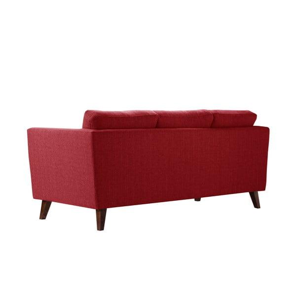 Pohovka pre troch Jalouse Maison Elisa, klasická červená