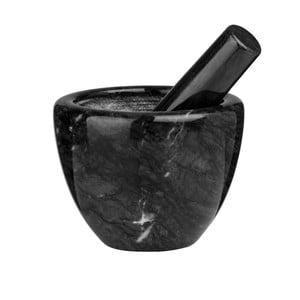 Čierny mramorový mažiar Premier Housewares Marble