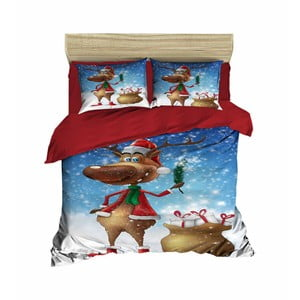 Vianočné obliečky na dvojlôžko Kristy, 200×220 cm