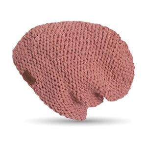 Ružová ručne háčkovaná čiapka DOKE Peach
