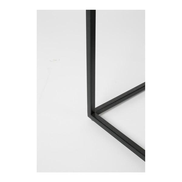 Odkladací stolík z mangového dřeva Zuiver Dendron, Ø 43 cm
