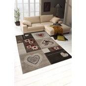 Koberec Webtappeti Intarsio Brown Cosy, 120×170cm