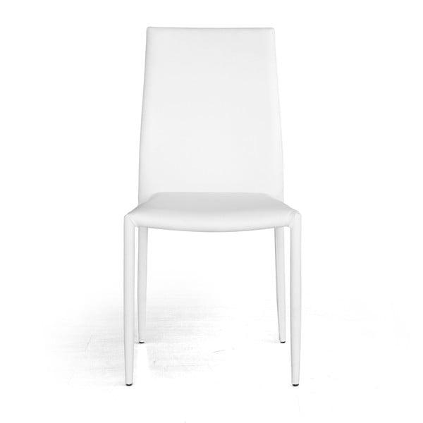 Jedálenská stolička Dani, biela